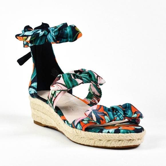 59fe72f2ab Nine West Shoes | Womens Allegro Fabric Wedge Sandals | Poshmark